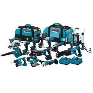 Makita 15 pc Combo Kit Image